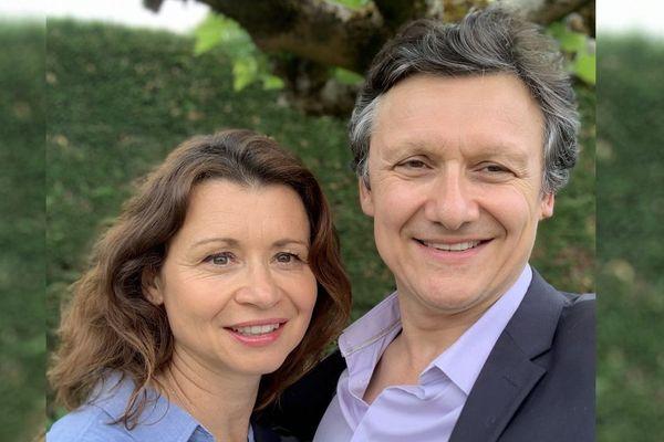 Vanessa Oltra, maître de conférence en économie et Gregory Michel, professeur de psychologie clinique à l'université de Bordeaux