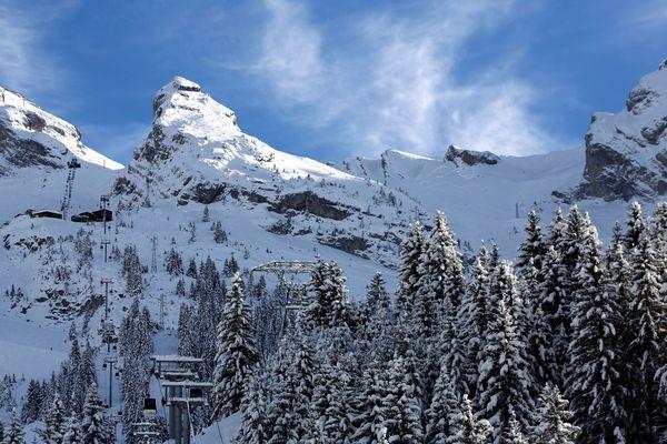 Le risque d'avalanche est marqué en Haute-Savoie. Photo d'archives.