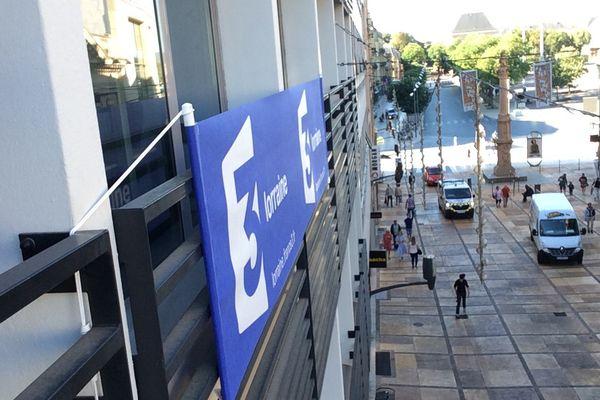 France 3 s'installe rue Serpenoise à Metz