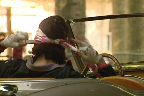 Au rallye des princesses, le charme vient tout autant du pilote que de son véhicule !