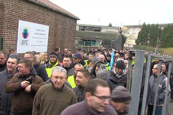 A Arc France, 1000 grévistes. Une mobilisation inédite depuis 2010.