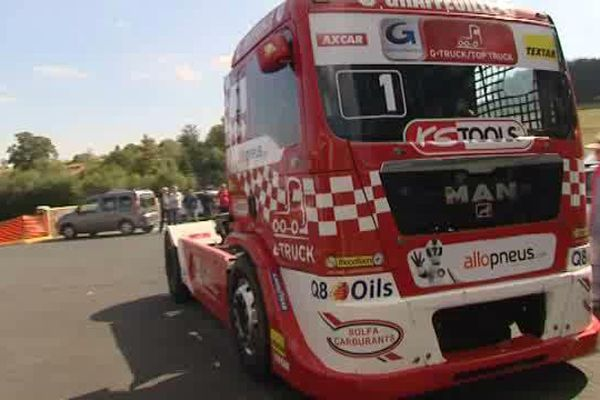 Les 24 et 25 septembre 2016, ce sont les moteurs de gros camions qui vont rugir sur la piste du circuit de Charade.