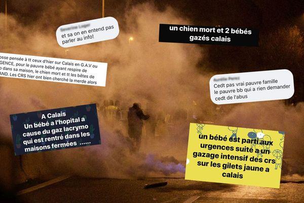 La nuit de samedi à dimanche a été émaillée d'incidents, près de l'A16 à Calais.