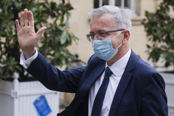 François Bonneau à Matignon, en septembre 2020.