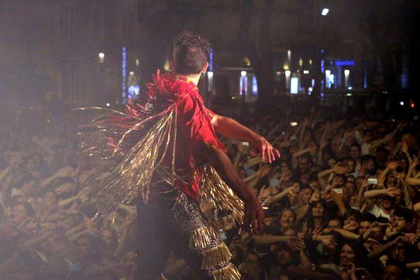 Concert du groupe Deluxe à l'occasion de la fête de la musique 2017 sur le port Hercule de Monaco