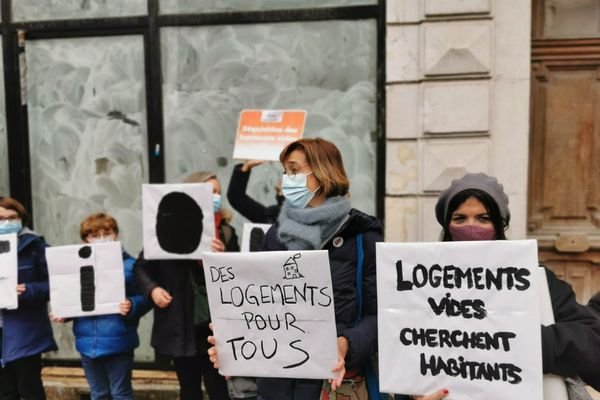 L'action était couplée aux revendications du mouvement Requisition