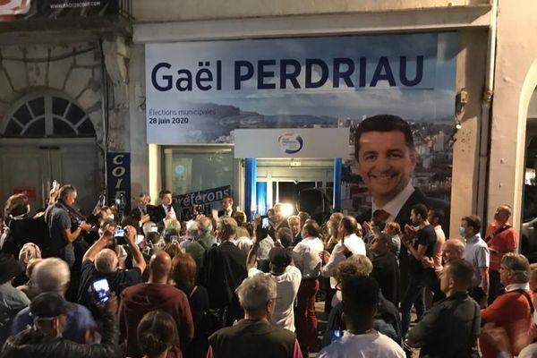 Gaël Perdriau est réélu