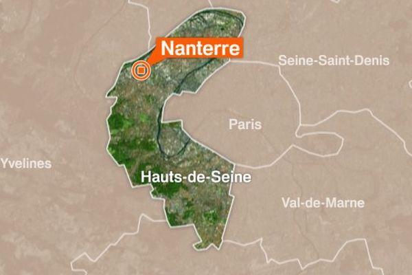 La ville de Nanterre, dans les Hauts-de-Seine.
