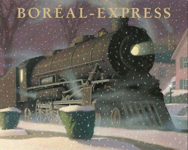 Boréal-express de Chris Van Allsburg