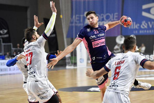Mené pendant les 40 premières minutes, le Limoges-Handball s'est finalement imposé 30-26