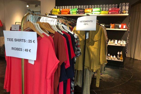 A Clermont-Ferrand, les commerçants dressent un bilan mitigé des soldes de cet été.