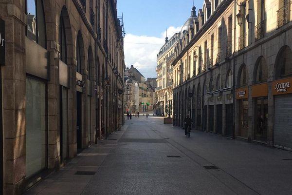 La rue de la Liberté, à Dijon.