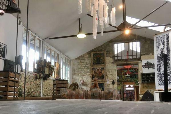 L'ancienne usine de Saint-Pierre-lès-Bitry lors de la 5e édition du festival Picardie Forever