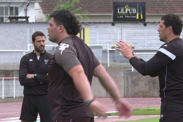 Les anciens joueurs landais Julien Tastet et Rémi Talès font leurs premiers pas en tant qu'entraîneurs
