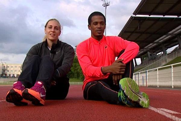 Marie Gayot - Angel Chelala (400m - athlétisme)