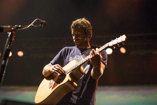 Jack Johnson lors de son passage au Bluesfest in Byron Bay (Australie) en avril dernier.