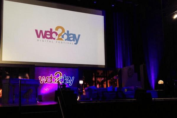 La scène du Web2day 2014