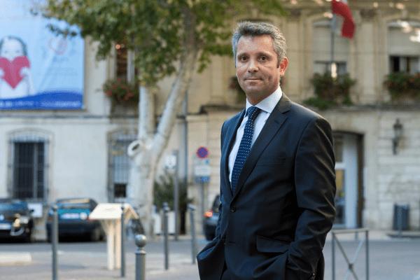Hervé de Lépinau, candidat FN dans la 3e circonscription de Vaucluse.