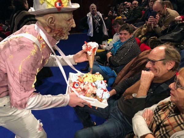 A Gérardmer, on propose de bien drôles de glaces au public du 27é Festival du Film Fantastique !