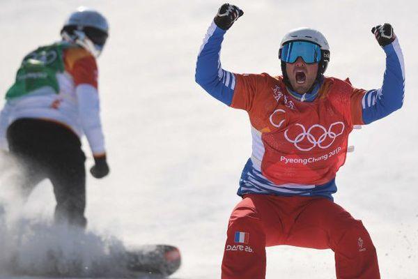 Pierre Vaultier remporte la médaille d'or olympique pour la deuxième fois