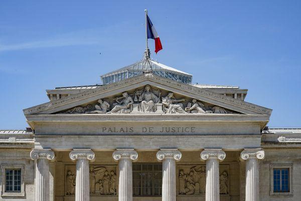 Le palais de justice à Marseille