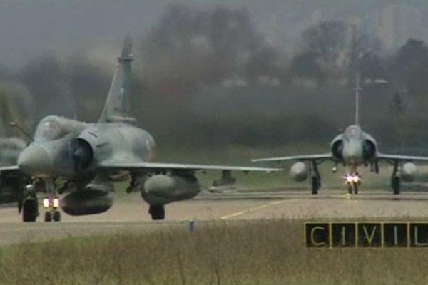 Base aérienne 102 de Dijon-Longvic (Archive)