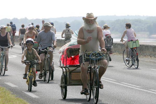 La fête du vélo en bord de Loire (archives)