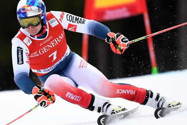 Alexis Pinturault durant le géant, dimanche 2 février, à Garmisch