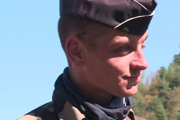 Le gendarme Romain Hossepied est devenu le héros des habitants du village de Tende après la tempête Alex •