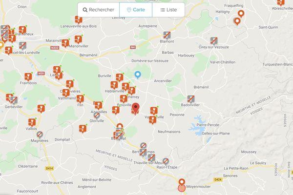 Autour de Lunéville, où vit Stéphane Tumminello, de nombreuses communes se sont équipées de bornes de rechargement.