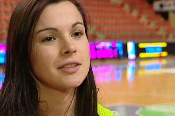 Marie Prouvensier, ex ailière du CDB, a été sélectionnée plusieurs fois en équipe de France