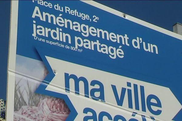 Une décharge pourrait devenir un jardin partagé dans le Panier à Marseille, place du refuge