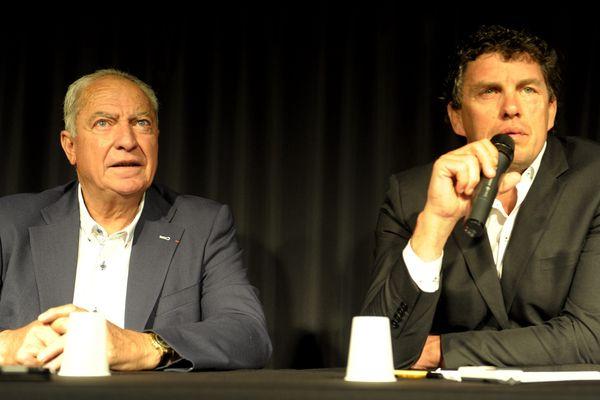 Conférence de presse commune pour lancer le Derby.
