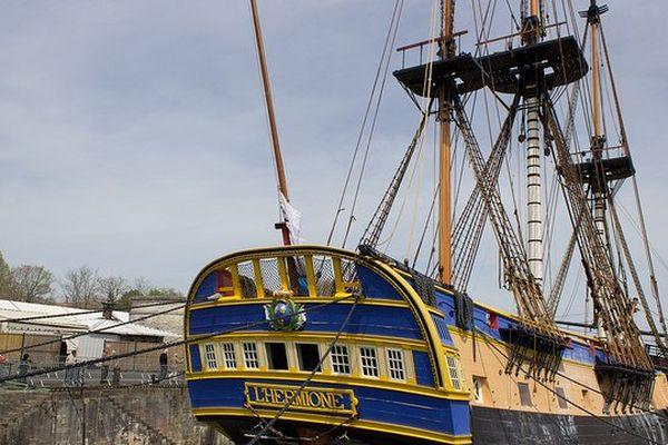 A bord tout fonctionne comme au 18ème siècle : l'équipage comptera 79 personnes