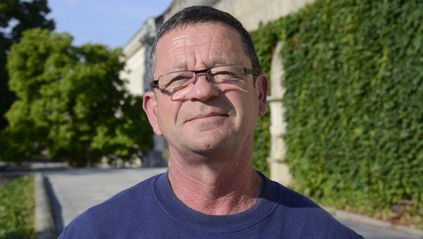 Laurent Buisine, responsable du Jardin Public de Bordeaux.