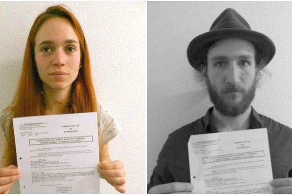 Lucille Auger et Michaël Kugler ont lancé un appel aux soutiens sur les réseaux sociaux.