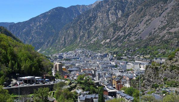 La principauté d'Andorre