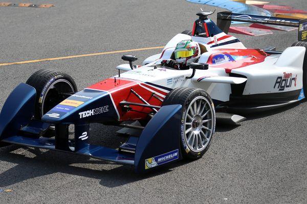 Nathanaël Berthon a pris la 7ème place du Grand Prix de Chine, le 24 octobre 2015, de Formula E. Le pilote auvergnat disputait sa première course dans cette discipline à l'aube de sa deuxième saison.