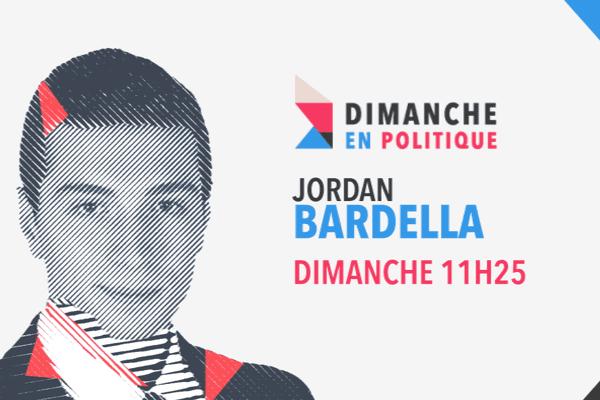 Jordan Bardella, invité de Dimanche en politique.