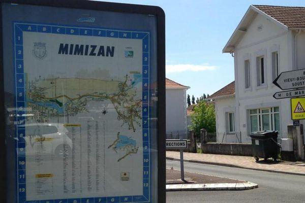 A Mimizan (Landes), 15,71% des votants ont fait le choix du bulletin blanc lors du second tour de la présidentielle, dimanche 7 mai 2017. (