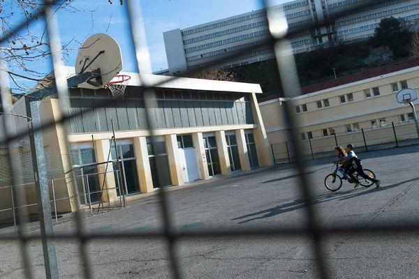 Une école à Marseille