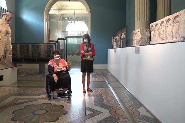 L'association de Christine Trepte a été sollicitée par la ville d'Amiens sur les différentes propositions des architectes pour la rénovation du musée de Picardie, notamment sur l'accessibilité extérieure et intérieure.