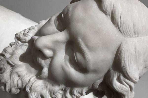 Buste de Gustave Courbet au musée des Beaux-Arts de Besançon
