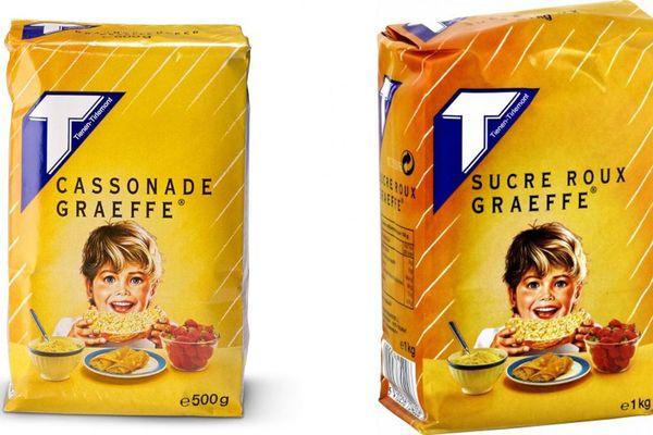 A gauche, le paquet belge. A droite, le paquet français.