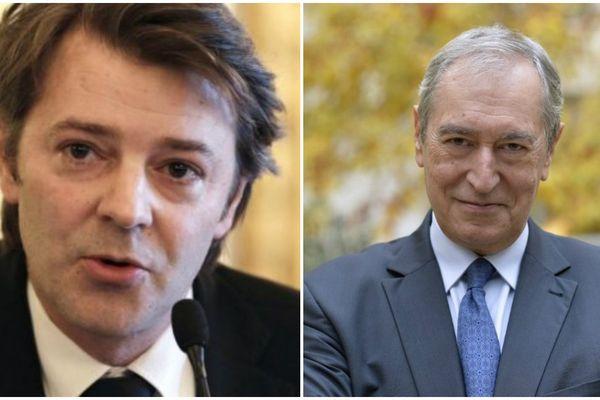François Baroin, maire de Troyes (UMP) / Jacques Pélissard, président des maires de France.