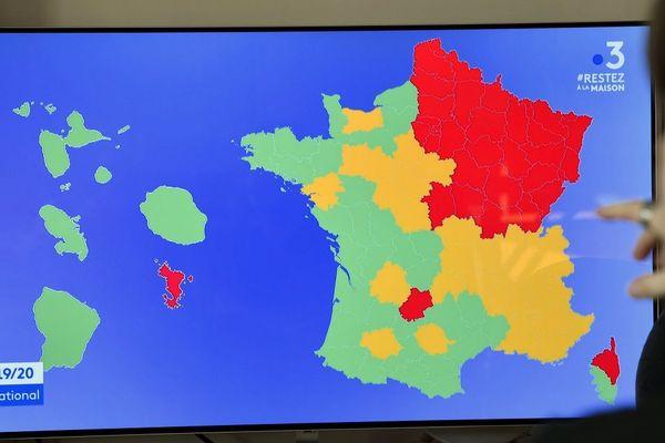 Après la publication de la carte du déconfinement en France, les élus du Cantal ne comprennent pas pourquoi le département apparaît en orange.