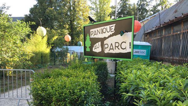 """Pas de panique, vous êtes arrivé au parc Pierquin pour voir ... """"Panique au parc"""""""