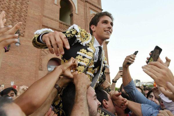 Jeudi 25 mai Madrid. Ginés Marín quitte Las Ventas en triomphe