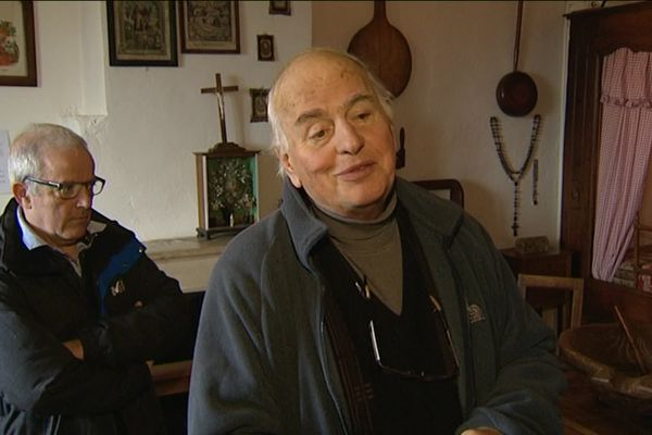 L'abbé Jean-Christophe Demard était régulièrement intervenu sur nos antennes, pour éclairer nos équipes et nos téléspectateurs de son savoir sur les traditions haut-saônoises. Ici, en 2015, il nous avait parlé des origines de la cancoillote.