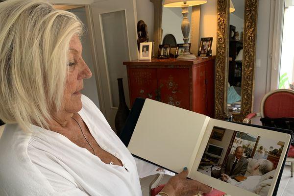 Gabrielle Nguyen, première adjointe de la ville de Reims au temps du maire Jean Falala, un proche de Jacques Chirac. Sur la photo, on aperçoit l'ancien président venu rendre visite à Jean Falala à l'hôpital quelques mois avant sa mort en 2005.
